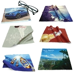 Custom Printed Microfiber Cloth 100% Polyester 230 GSM 6