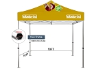 10' x 10' Premium Event Tent Kit - 50mm Hex Frame - Full Color Graphics
