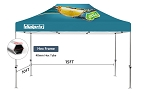 10' x 15' Deluxe Event Tent Kit - 40mm Hex Frame - Full Color Graphics