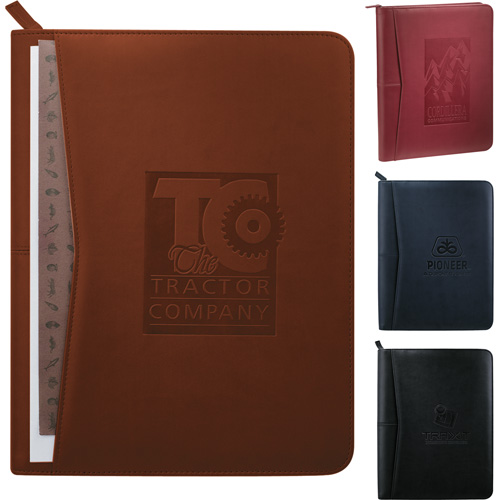 Pedova™ Zippered Padfolios