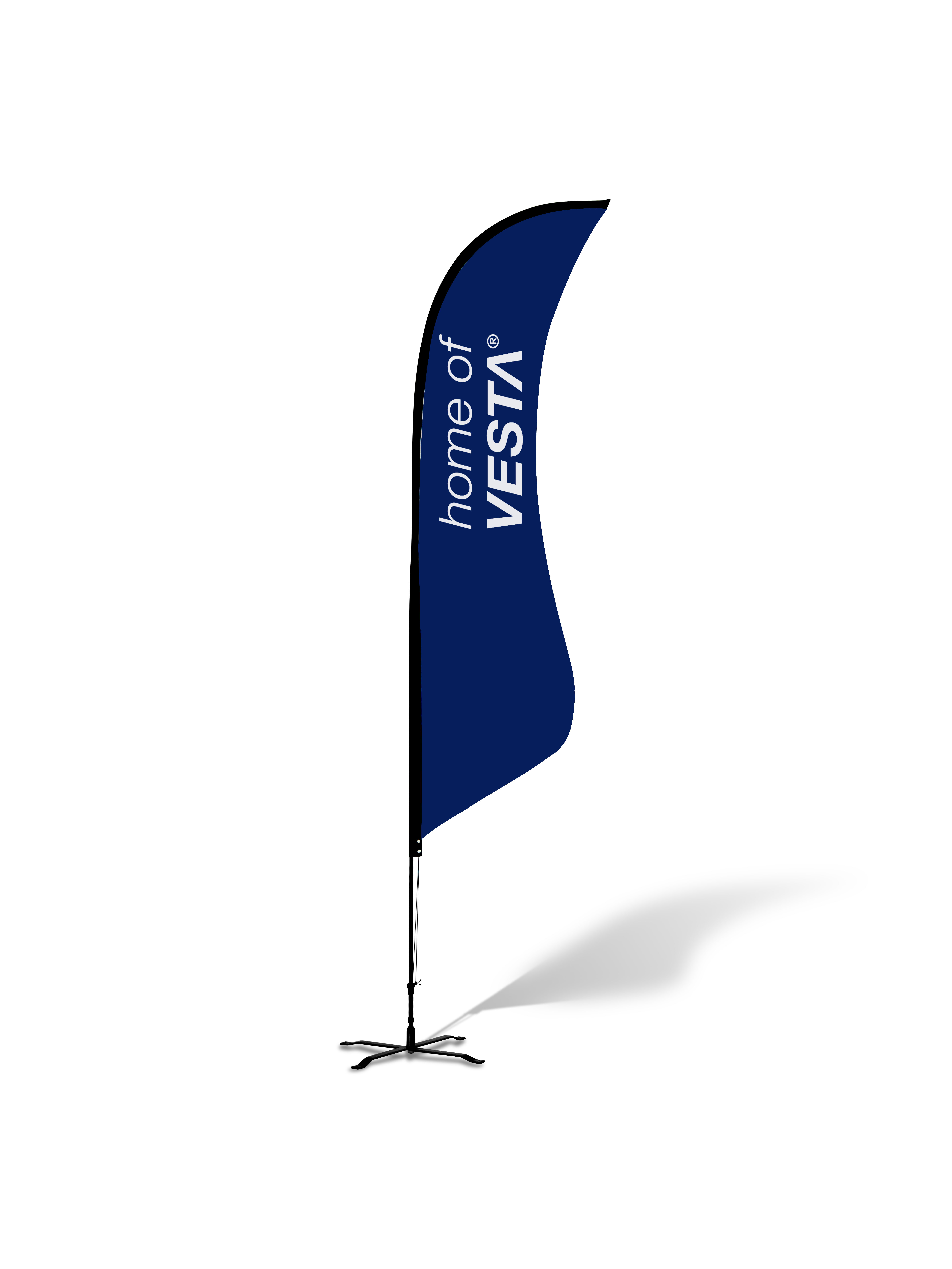 Sharkfin Flags - Complete Kit - 8.5'