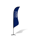 Sharkfin Flags - Complete Kit - 12'