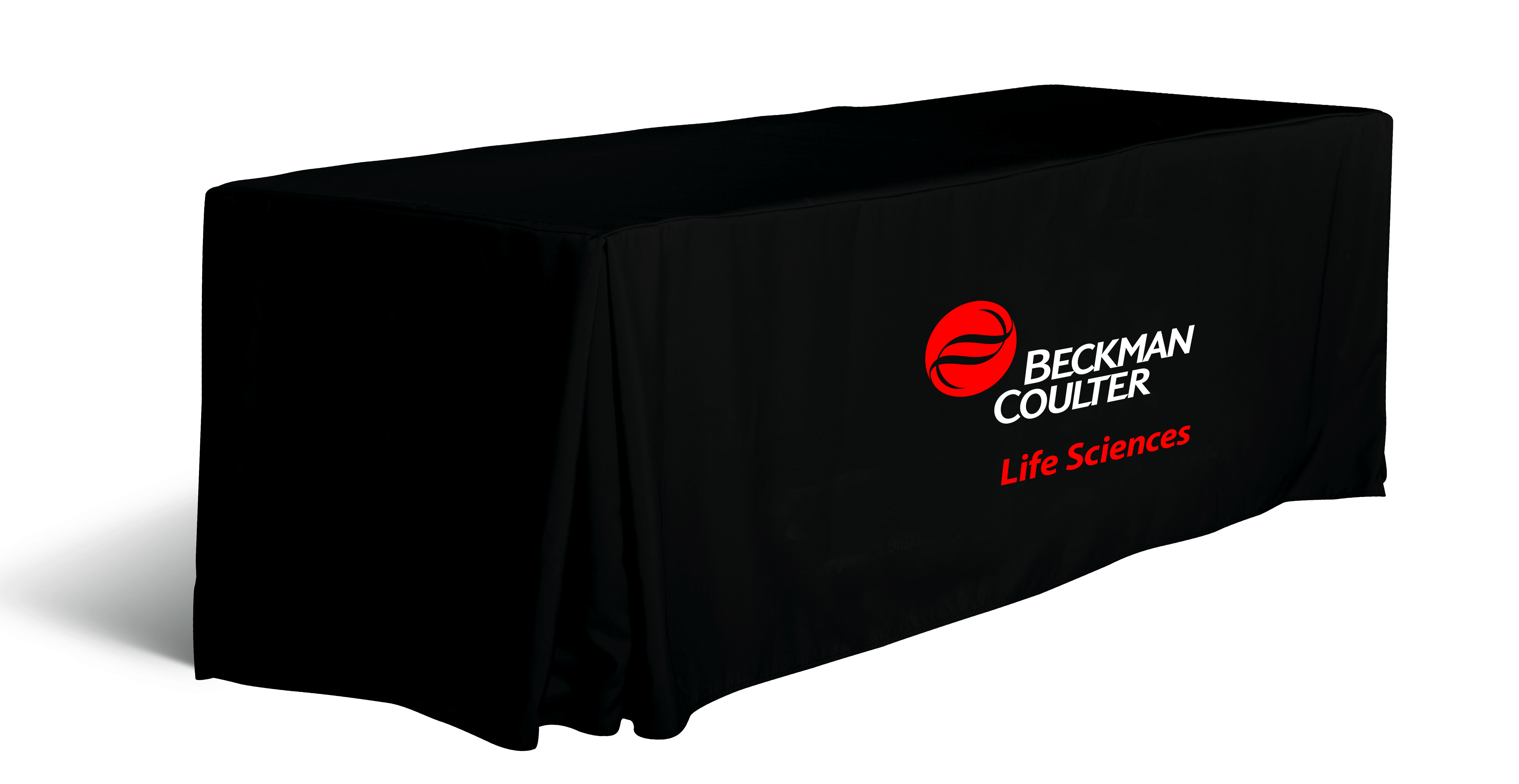 8 ft. Table cover - Pleated, open or full back.
