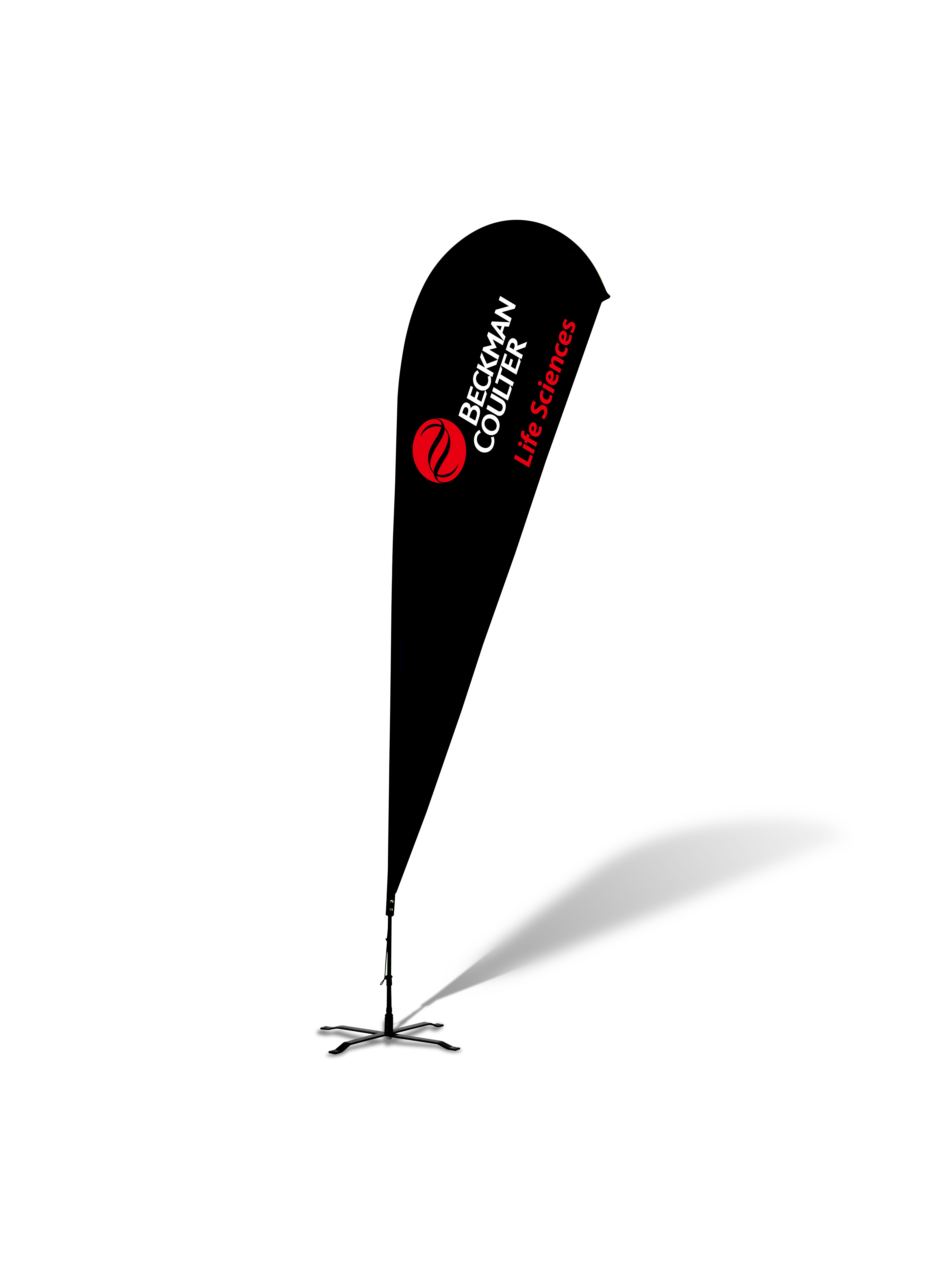 Teardrop Flags - Complete Kit - 15'