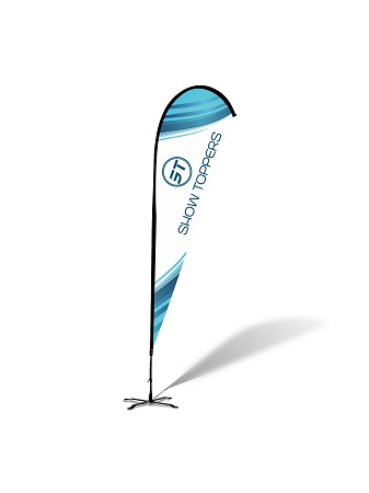 Teardrop Flags - Complete Kit - 12'