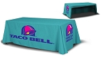 Full Color Table Cover 8 Ft. 24 Hr Service