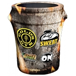 Custom Printed Trash Can Cover - Full Coverage Print 55 Gallon
