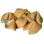Custom Message Fortune Cookies: Kosher, Dairy, Nut Free