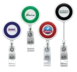 Jumbo Color Ring Round Badge Reels