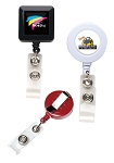 Good Quality Round or Square Retractable Badge Reels