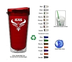 16 Oz. Tritan Verano Translucent Double Wall Insulated Tumbler