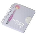 Awareness MopTopper™ Stylus Pen & Notebook Set