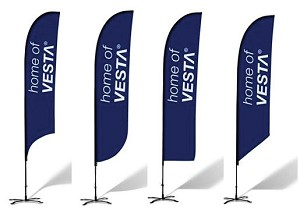Feather Flags - Complete Kit - 15'