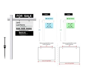 Real Estate Post Signs