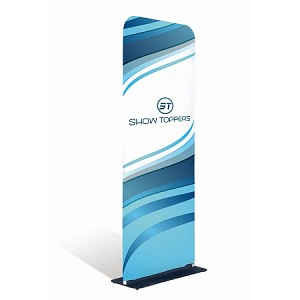 Straight Vertical Display - 4 Widths Available